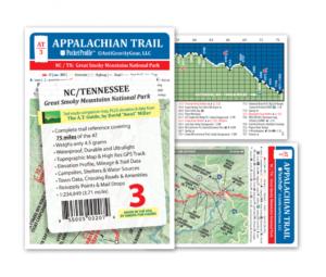 Appalachian Trail Pocket Profile Map