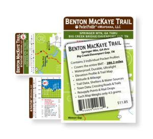 Benton MacKaye Pocket Profile Map