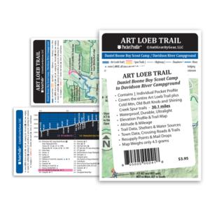 Art Loeb Trail Pocket Profile Map