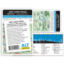 Art Loeb Trail Pocket Profile Map