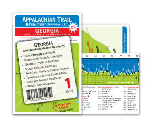 Pocket Profile Appalachian Trail Map - AT-1