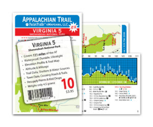 Pocket Profile Appalachian Trail Map - AT-10