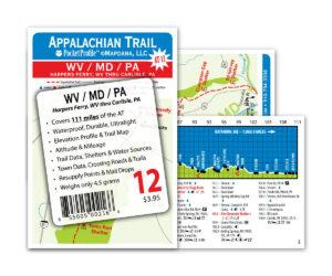 Pocket Profile Appalachian Trail Map - AT-12