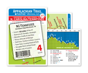 Pocket Profile Appalachian Trail Map - AT-4