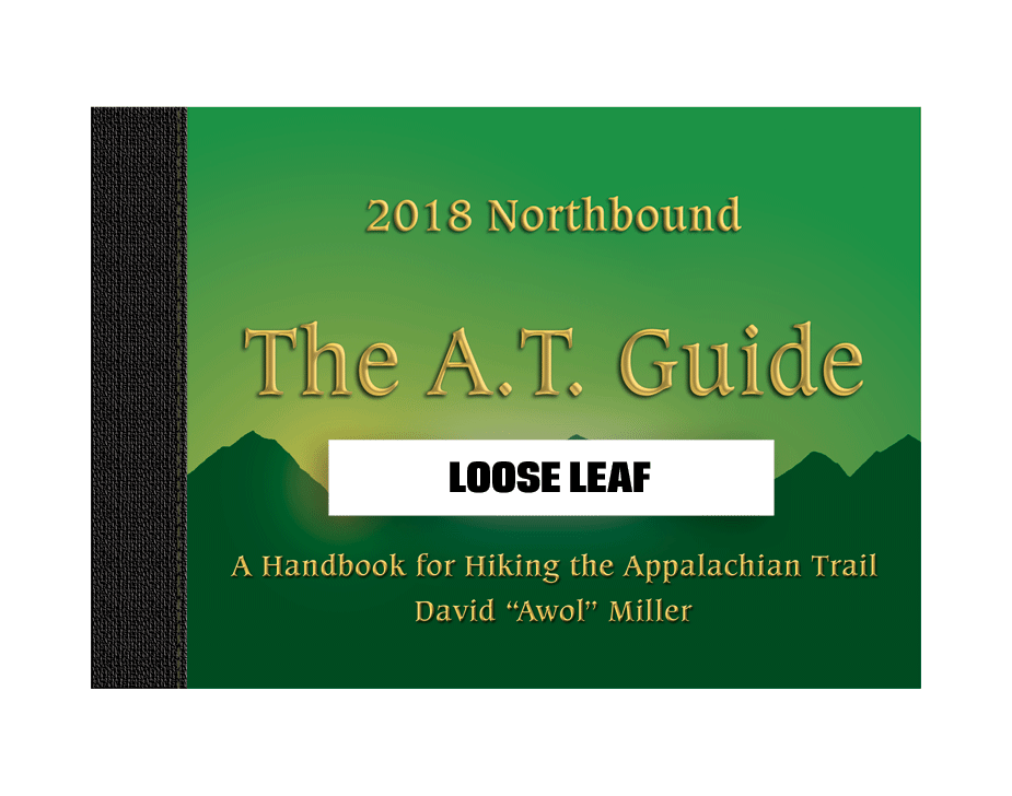 2018 Northbound A.T. Guide - Loose Leaf