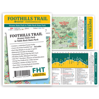 Foothills Trail Pocket Profile Map