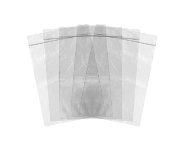 Heavy Duty Plastic Guidebook Zip Lock Bag