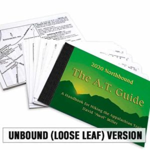 2020 AT Guide Northbound Book Loose Leaf